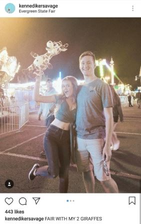 Photo of a couple at the Carnival